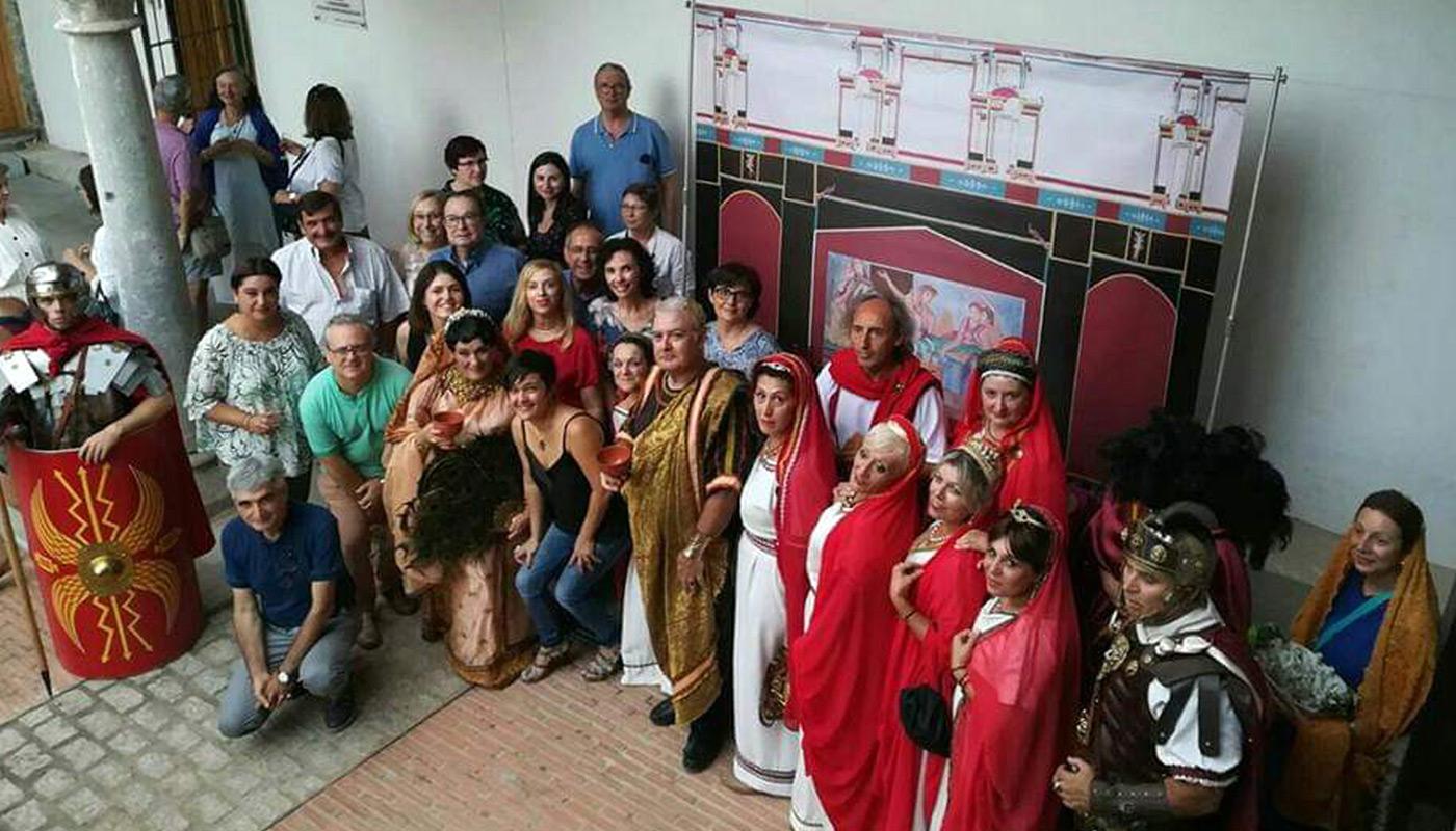 Día de la Romanidad en Sagunto. tienda online de reproducciones arqueologicas