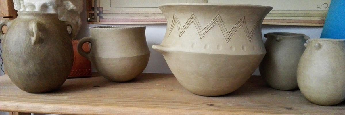 Taller de cerámica arqueológica