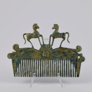 Peine Etrusco Caballos