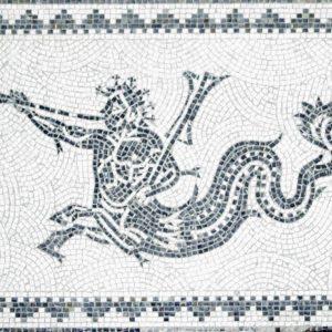 Mosaico Tritón