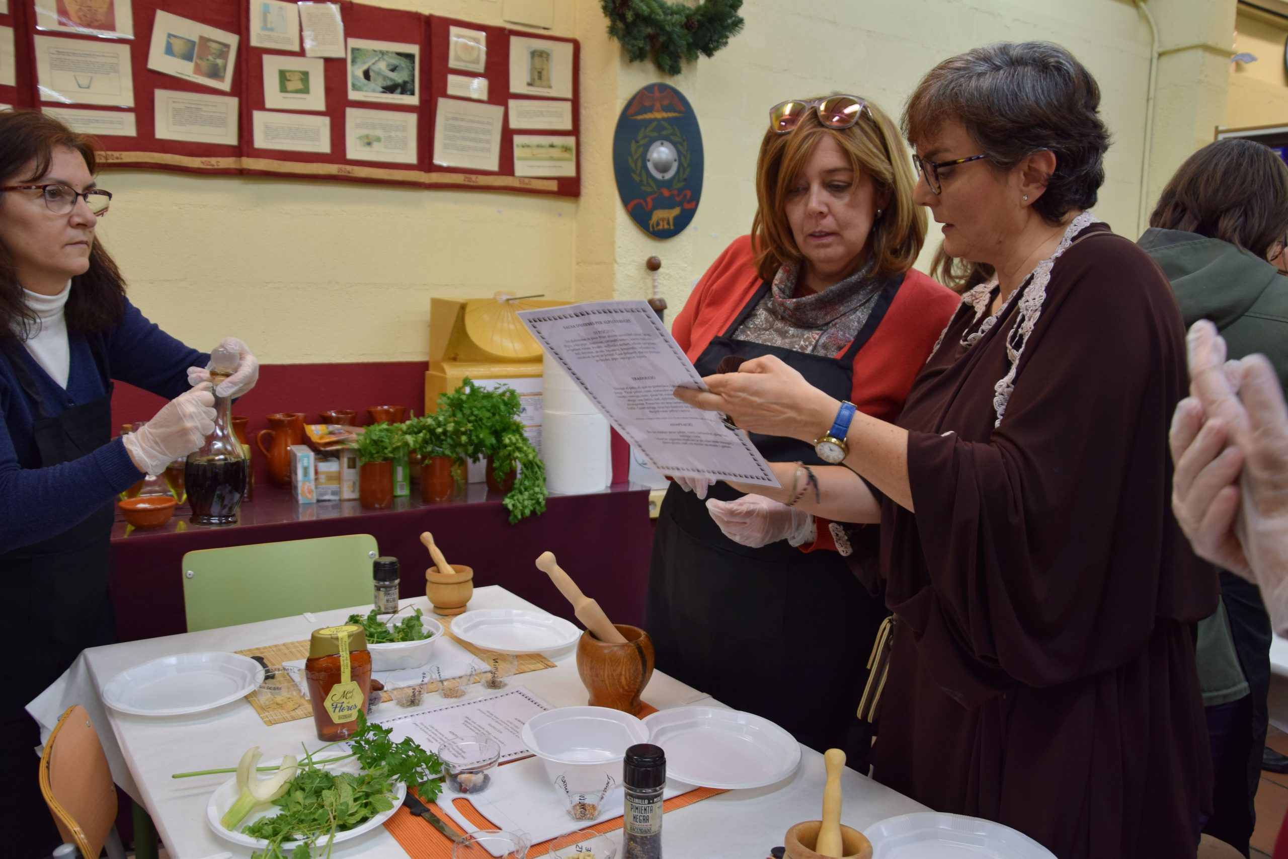 Taller cocina romana Domus Baebia II