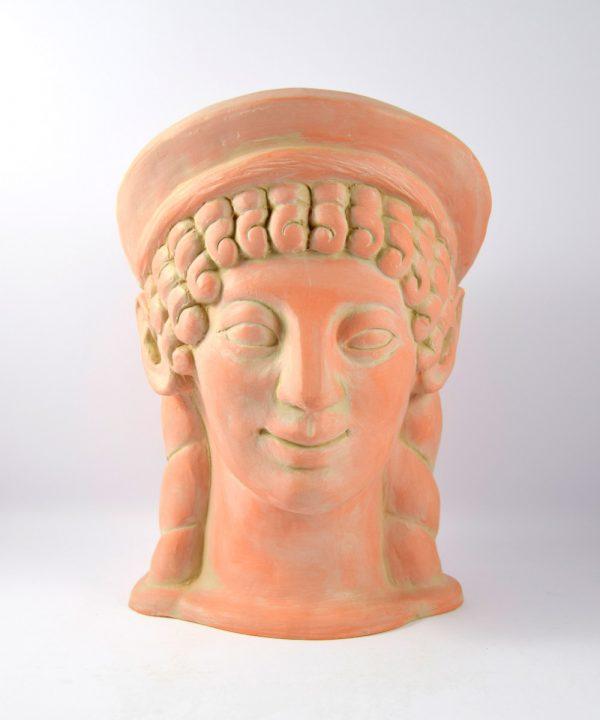 Cabeza mujer etrusca